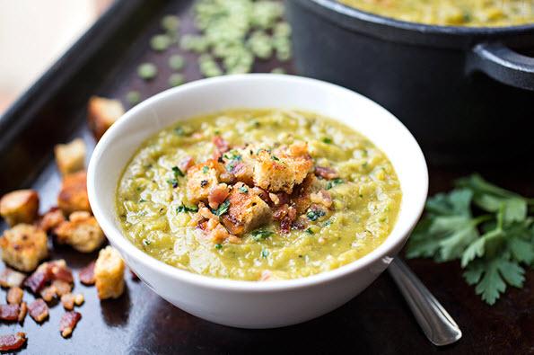 Split Pea & Smoky Bacon Soup