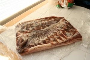 fresh pork belly for bacon