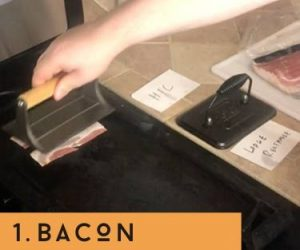 bacon with hic press