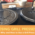cooking with a grill press